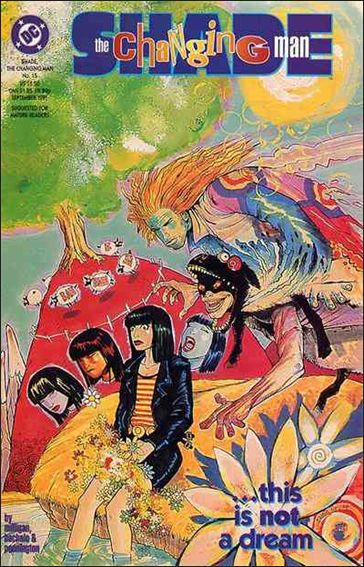 Shade, the Changing Man (1990) 15-A by Vertigo