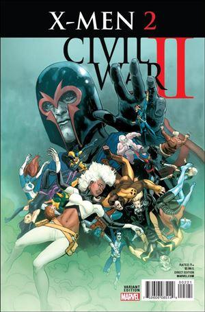 Civil War II: X-Men 2-B