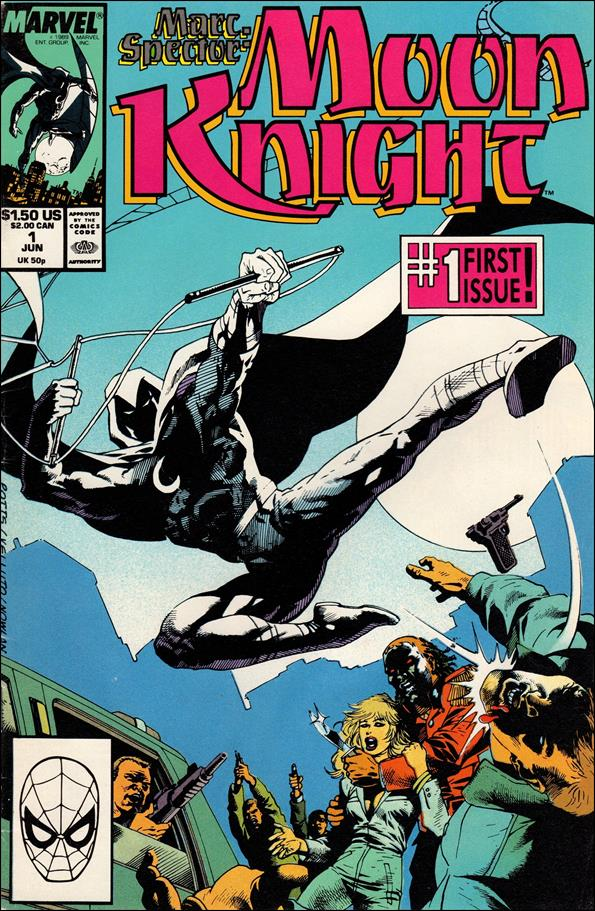 Marc Spector: Moon Knight 1-A by Marvel