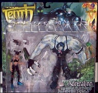 Tenth 2-Figure Packs Adrenalynn and Lastic by ReSaurus Company Inc.