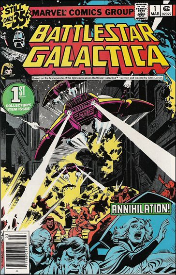 Battlestar Galactica (1979) 1-A by Marvel