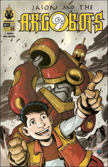 Jason and the Argobots 1-A by Oni Press