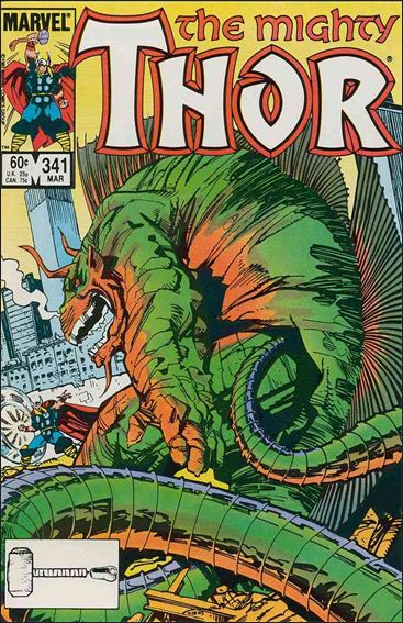 Thor (1966) 341-A by Marvel