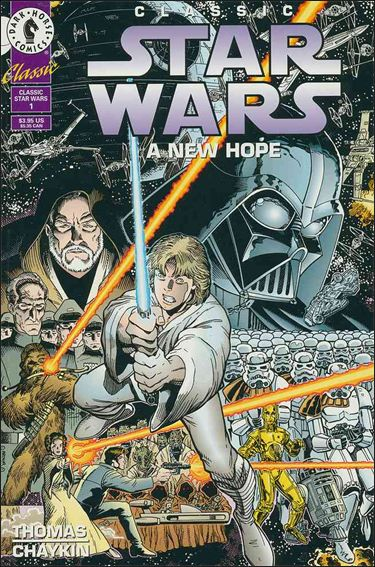 Classic Star Wars: A New Hope 1-A by Dark Horse