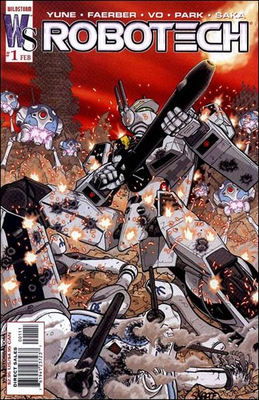 Robotech (2003) 1-B by WildStorm