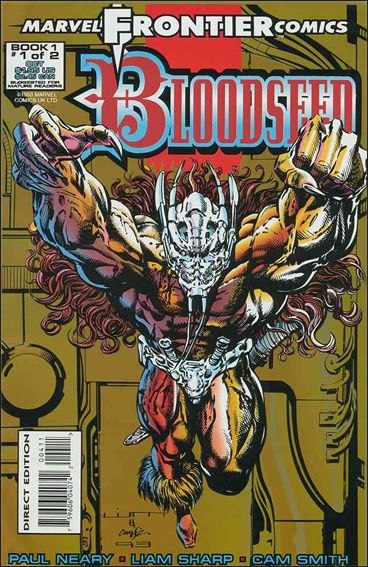 Bloodseed (UK) 1-A by Marvel UK
