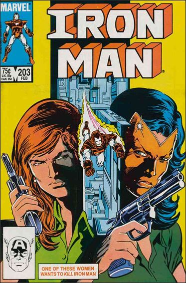Iron Man (1968) 203-A by Marvel