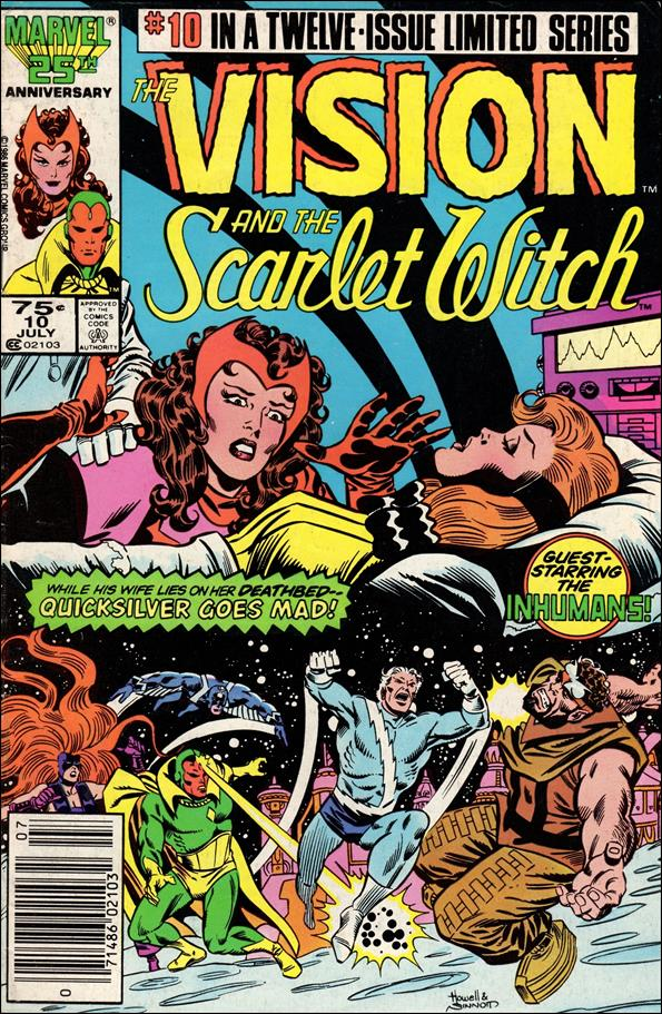 Vision and the Scarlet Witch (1985) 10-A by Marvel