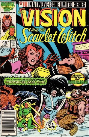 Vision and the Scarlet Witch (1985) 10-A