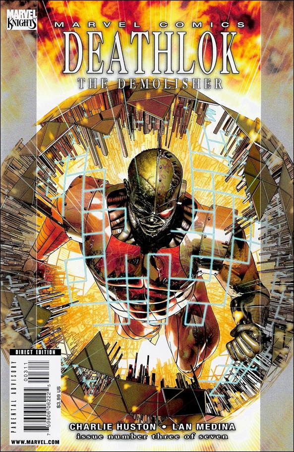 Deathlok (2010) 3-A by Marvel