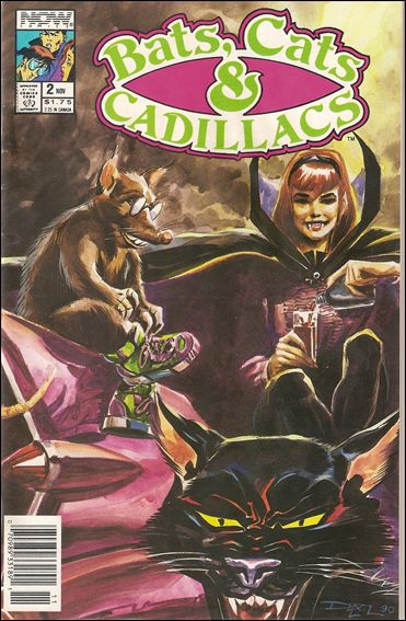 Bats, Cats & Cadillacs 2-A by Now Comics