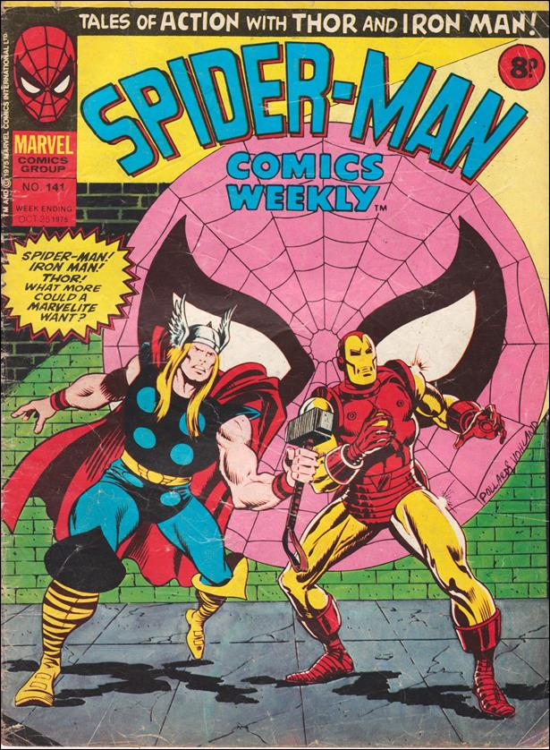 Spider-Man: Comics Weekly (UK) 141-A by Marvel UK