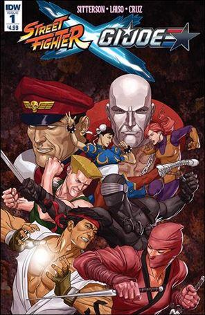 Street Fighter x G.I. Joe 1-A