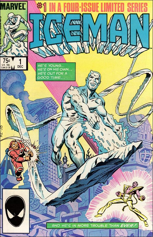 Iceman (1984) 1-A by Marvel