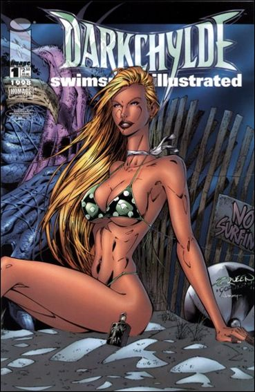 Darkchylde Swimsuit Illustrated 1-C by Image