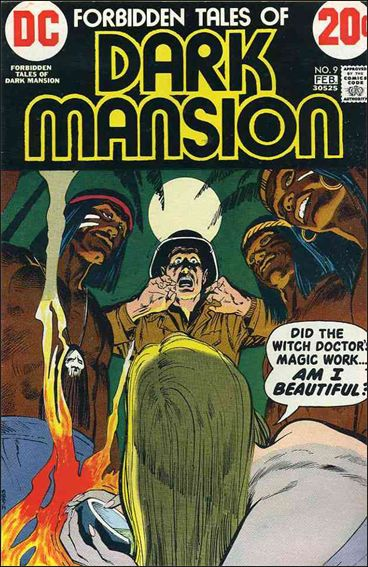 Forbidden Tales of Dark Mansion 9-A by DC