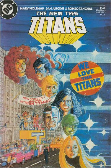 New Teen Titans (1984) 6-A by DC