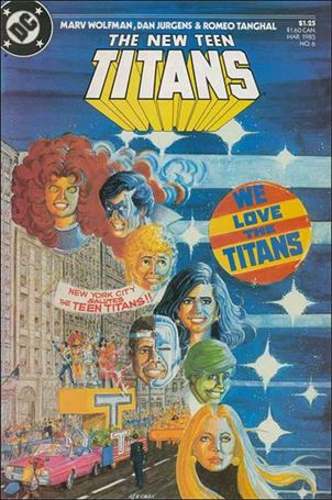 New Teen Titans (1984) 6-A