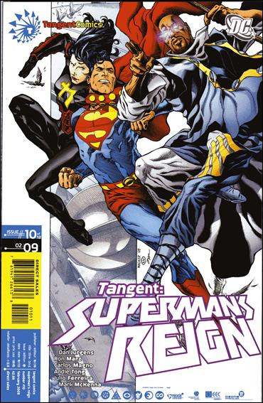 Tangent: Superman's Reign 10-A by DC
