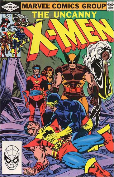 Uncanny X-Men (1981) 155-A by Marvel