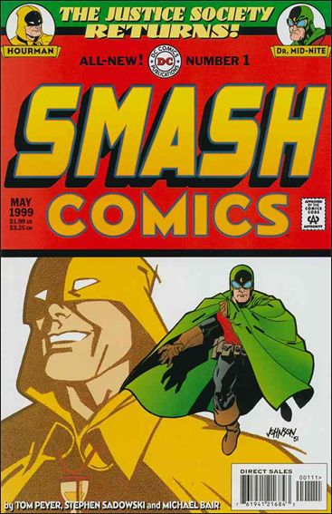 Smash Comics (1999) 1-A by DC