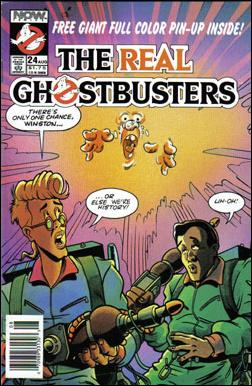 Real Ghostbusters (1988) 24-A by Now Comics