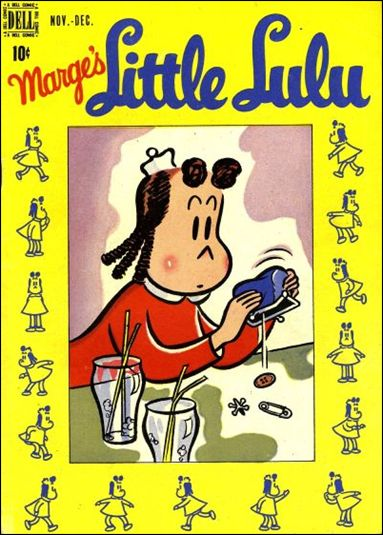 Marge's Little Lulu 6-A by Dell