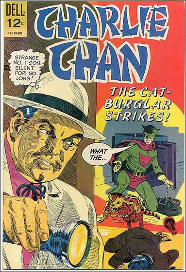 Charlie Chan (1965) 2-A by Dell