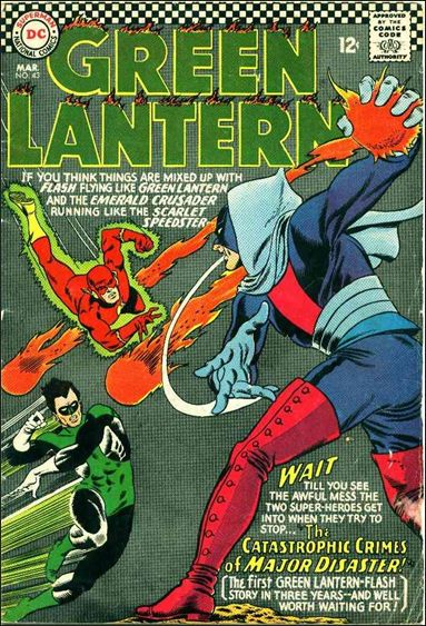Green Lantern (1960) 43-A by DC