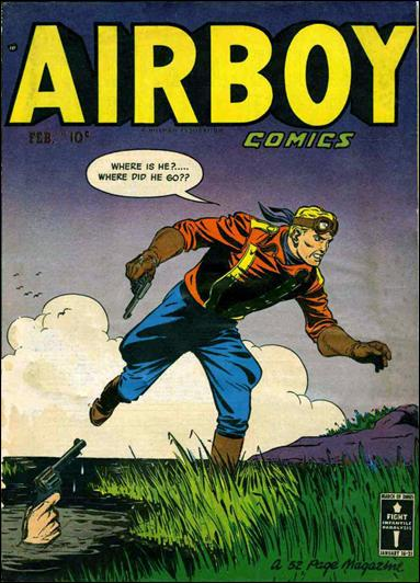 Airboy Comics (1950) 1-A by Hillman