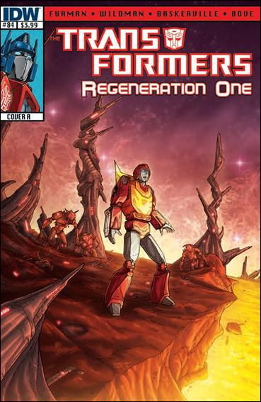 Transformers: Regeneration One 84-A by IDW