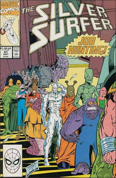 Silver Surfer (1987) 41-A by Marvel