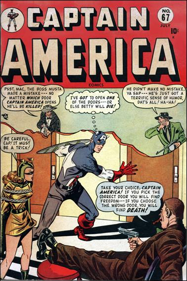 Captain America Comics (1941) 67-A by Timely