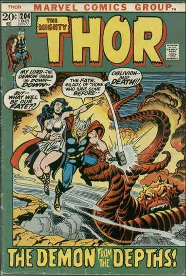 Thor (1966) 204-A by Marvel