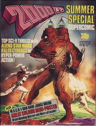 2000 A.D. Summer Special Supercomic 1-A