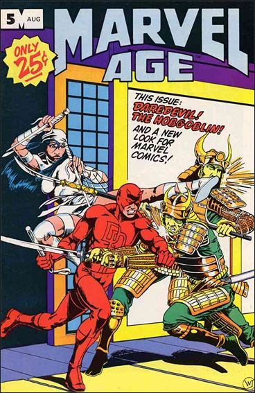 Marvel Age 5-A by Marvel