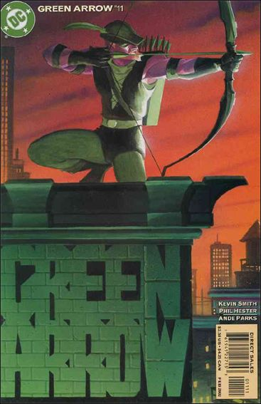 Green Arrow (2001) 11-A by DC
