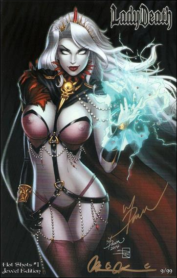 Lady Death: Hot Shots 1-F by Coffin Comics