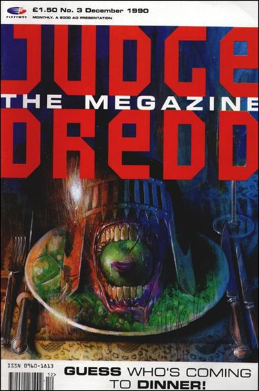 Judge Dredd Megazine (1990) 3-A by Fleetway