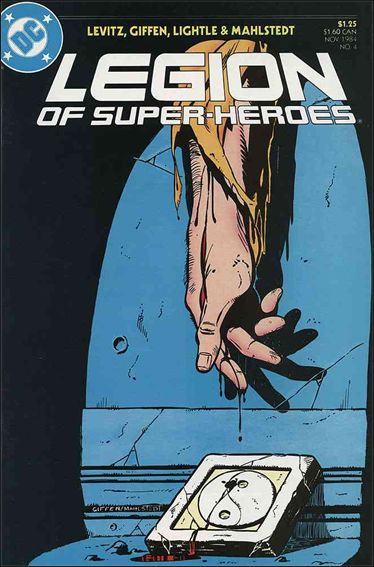 Legion of Super-Heroes (1984) 4-A by DC