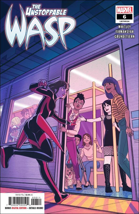 Unstoppable Wasp (2018) 6-A by Marvel
