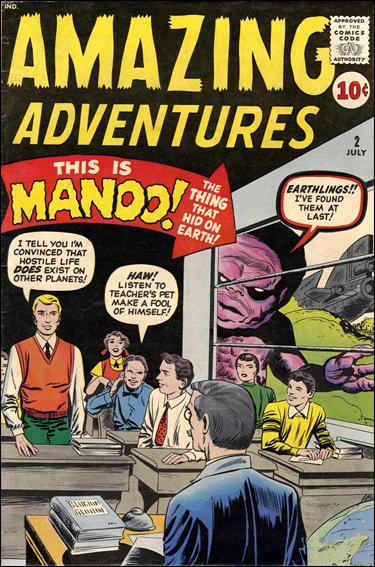 Amazing Adventures (1961) 2-A by Marvel