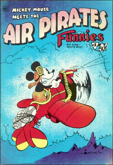 Air Pirates Funnies (1971) 1-A by Hell Comics