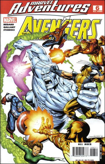 Marvel Adventures The Avengers 6-A by Marvel