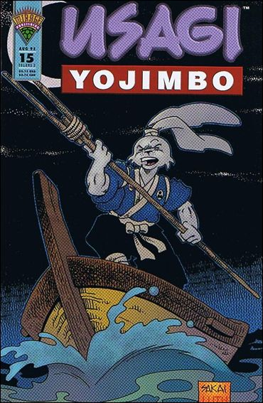 Usagi Yojimbo (1993) 15-A by Mirage