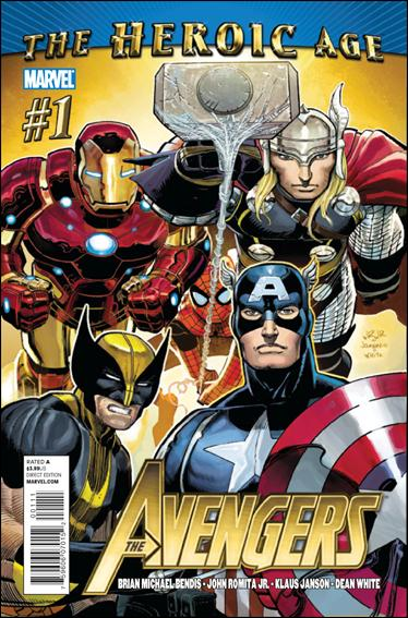 Avengers (2010) 1-A by Marvel