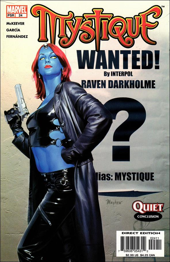 Mystique 24-A by Marvel