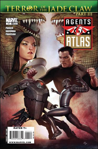 Agents of Atlas (2009) 11-A by Marvel