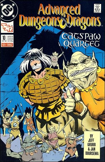 Advanced Dungeons & Dragons 10-A by DC
