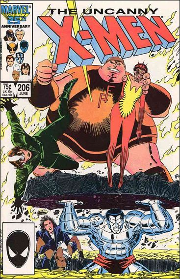 Uncanny X-Men (1981) 206-A by Marvel